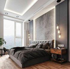 Rustic Master Bedroom, Master Bedroom Interior, Home Decor Bedroom, Decor Room, Bedroom Furniture, Bedroom Classic, Single Bedroom, Dark Furniture, Bedroom Black
