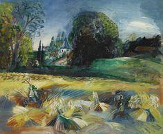 "thunderstruck9: ""Jean Dufy (French, 1888-1964), La Moisson [The Harvest], 1925. Oil on canvas, 54.5 x 65.5 cm. """