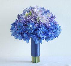 Blue and purple dahlia flower petals make a pretty thank you wedding blue and purple dahlia flower petals make a pretty thank you wedding sticker wedding themes dahlia wedding ideas pinterest more purple dahlia mightylinksfo