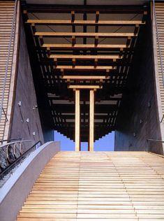 expo 92. Pabellón Japón. Tadao Ando