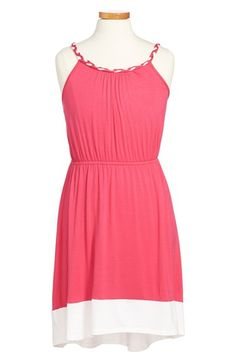 Soprano Colorblock Sleeveless Dress (Big Girls) available at #Nordstrom