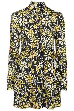 Daisy Print Shirt Dress | TOPSHOP saved by #ShoppingIS