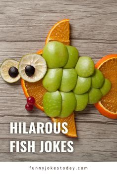 One of the greatest things about fish jokes is that they can take so many zany directions. A fish's name can be turned into a pun or can rhyme with a funnier word literally thousands of times. It sounds like fun, right?Check out this list of funny fish jokes that are worth sharing with your family and friends. You're gonna make them split their gills laughing so hard, I'm sure. Best Funny Jokes, Funny Animal Jokes, What Do Whales Eat, Fish Jokes, Sister Jokes, Fishing Worms, Funny Fish, Teacher Jokes, Two Fish