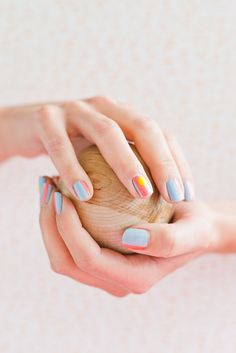 Nailed It: A Sunny Summer Nail Art Tutorial - Paper and Stitch