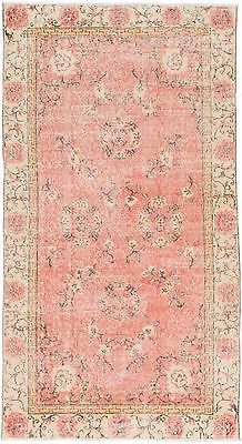"NEW ARRIVALS...Hand-knotted Turkish Carpet 3'8"" x 6'9"" Melis Vintage Rug"