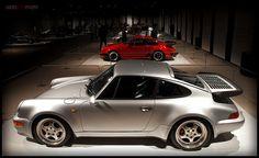 Porsche show case