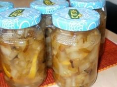 Pickles, Sugar Free, Cucumber, Mason Jars, Food And Drink, Yummy Food, Homemade, Canning, Drinks