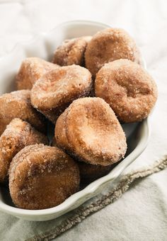 Cinnamon sugar popovers. What a fun idea!