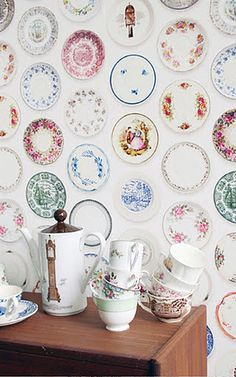 Studio Ditte : Porcelain wallpaper