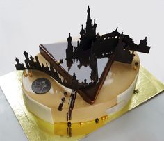 Artistic Pastry Chef Uses Background in Architecture to Bake Amazing Cakes
