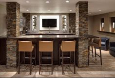 Rec Room Basement, Basement Brick Walls Along With Rec Basement Brick Walls  . [Dedeking] Home Interior And Design Center