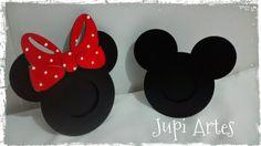 Jupi Artes: Porta Retratos Mickey e Minnie