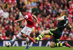 Arsenal 3-1 Stoke City 22/09/13 [Mesut Ozil]