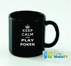 Caneca Keep Calm and Play Poker