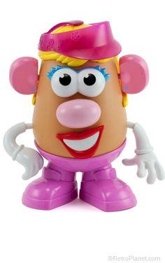 Mrs. Potato Head - she was bound to come along - Mr Potato Head was lonely!