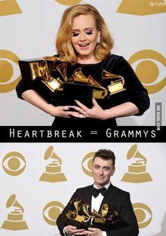 Adele, Sam Smith, same battle