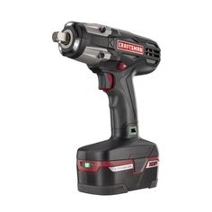 Craftsman 1 2 Heavy Duty 19 2v Cordless Impact Wrench Kit Tools