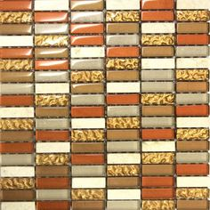 Glass mosaic tiles are essential if you want people to be wowed by your home, they can be used as border tiles or feature walls and look great in kitchens and bathrooms. They are often teamed with a plain coloured tile and add elegance and sophistication to the look. Mosaic tiles are offered in an array of designs, colours, sizes, and texture options.