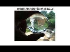 How To Make Clear Ice Balls With Silicone Ice Mold - Ice Ball Mold Video Training
