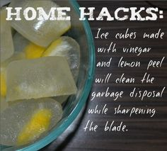 This is a neat tip for garbage disposals!