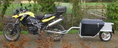 Read information on motorcycle camping classic cars Click the link for more info. Trail Motorcycle, Motorcycle Trailer, Motorcycle Luggage, Dog Trailer, Utility Trailer, Bike Trailers, Motorbike Accessories, Adventure Trailers, Expedition Trailer