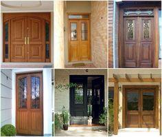 Porta de entrada francesa de duas folhas Garage Doors, Sweet Home, Shed, Outdoor Structures, Outdoor Decor, Design, Bar, Home Decor, Closet
