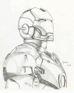 Iron Man sketch by TyndallsQuest. on - Iron Man sketch by TyndallsQuest. Pencil Art Drawings, Art Drawings Sketches, Cool Drawings, Pencil Drawing Tutorials, Iron Man Drawing, Avengers Drawings, Spiderman Sketches, Superhero Sketches, Drawing Superheroes