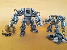With War Monger version 3.1 (New feet and hands)  Album link for close-ups and…