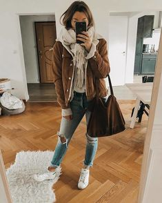 50 casual outfits for winter - Fashion - Winter Mode Cold Spring Outfit, Hot Day Outfit, Casual Winter Outfits, Winter Fashion Outfits, Autumn Winter Fashion, Trendy Outfits, Fall Fashion, College Winter Outfits, Winter Style