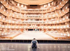 Guillaume Côté onstage at the Four Seasons Centre for the Performing Arts. Photo by Christopher Wahl.