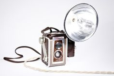 $145 #camera #lamp #decor #kodak #duaflex #flash #creative #upcycling #want