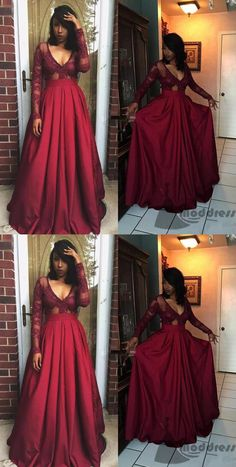 https://www.moddress.co.uk/collections/prom-dresses/products/chic-plus-size-long-prom-dress-v-neck-satin-lace-long-sleeve-a-line-evening-dress-hs348