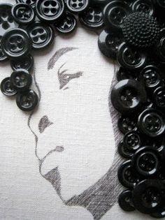 Artesanatos com Botões