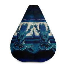 Poltergeist All-Over Print Bean Bag Chair w/ filling Fabric Weights, Sliders, Bean Bag Chair, Horror, Beans, Comfy, Movie, Film Movie, Bean Bag Chairs