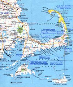 Map Cape Cod