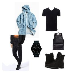 """""""✖️💎"""" by tanjasngr ❤ liked on Polyvore featuring Timberland, Stussy, Diesel, Nixon, Givenchy, men's fashion and menswear"""
