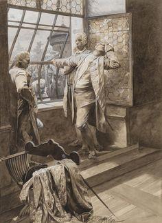 Alphonse Mucha (1860 - 1939) - Exécution de Katte