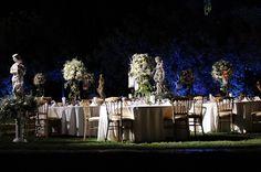 Arnaoon -  Wedding Venue in Lebanon - Table Setup - Arcade venue