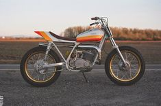 Racing Cafè: Yamaha DT 250 1975 by One Down Four Up