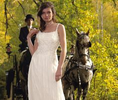 Romantic Wedding Dress by MonikaVenika on Etsy https://www.etsy.com/listing/209852459/romantic-wedding-dress