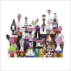 Vitra dolls by Alexander Girard