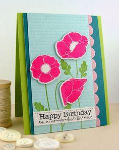 simply handmade by heather: Poppy Birthday