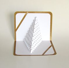 3D Pop Up STAIRS 2 LOVE Home Decor Origamic by BoldFolds on Etsy