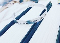 ACoMaF Stars and Dreams Quote Cuff Bracelet