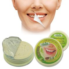 2 PCS Thailand herbal dentifrice whitening tooth powder to kill bacteria yellowed teeth become white toothpaste whitening Z3