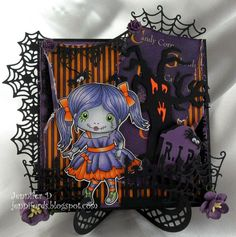 NEW RELEASE SHOWCASE DAY 2 from our Design Team! Card by Jenny Dix featuring Zombie Marci and these Dies - Tombstone, Spiderweb Banner Older Dies - Spiderweb Corner, Spiderweb Border,  Frightful Fence, Scary Tree :-)  Shop for our NEW products here - http://shop.lalalandcrafts.com/NEW_c16.htm   Coloring details and more Design Team inspiration here - http://lalalandcrafts.blogspot.ie/2014/09/september-2014-release-showcase.html