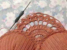 Crochet Swimwear Instructions for making woolen bikini for summer . Motif Bikini Crochet, Débardeurs Au Crochet, Crochet Bolero, Bikinis Crochet, Crochet Woman, Crochet Chart, Crochet Stitches, Crochet Designs, Crochet Patterns
