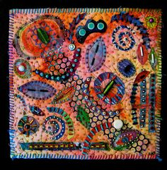 she is a great fiber artist - Susan Sorrel
