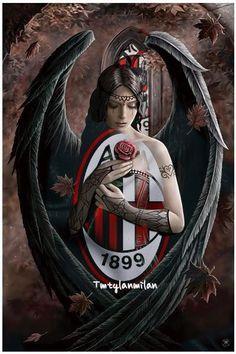 Paolo Maldini, Ac Milan, Badges, Dna, Volkswagen, Soccer, Wallpaper, Hs Sports, Futbol