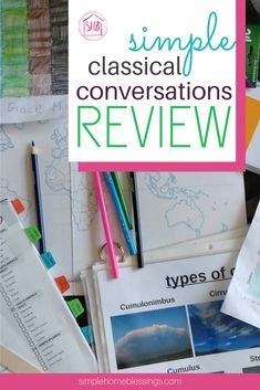 a simple review schedule for Classical Conversations (all cycles)  memory master prep